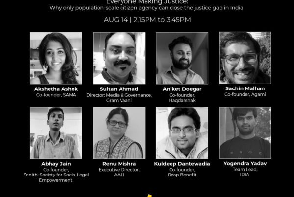 Charcha 2021: Everyone Making Justice 1